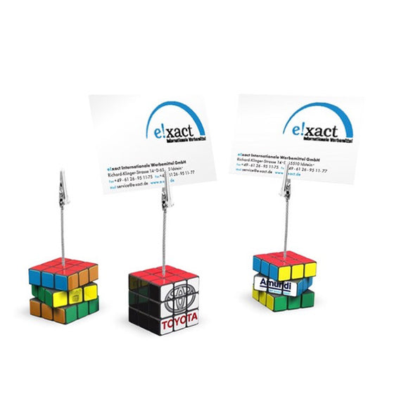 Custom Rubik's Memo Clip Rubik's Supplier Philippines Corporate Gifts Corporate Giveaways