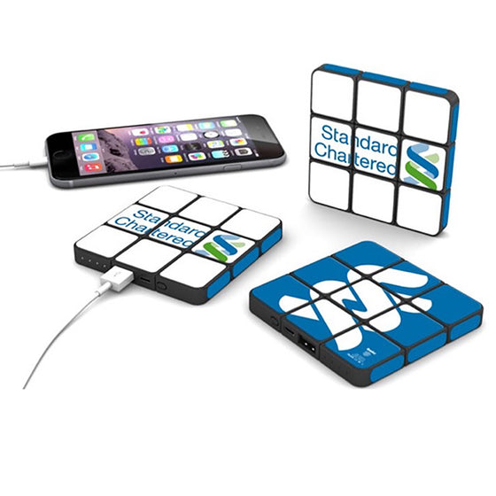 Custom Rubik's Power bank Corporate Giveaways Philippines