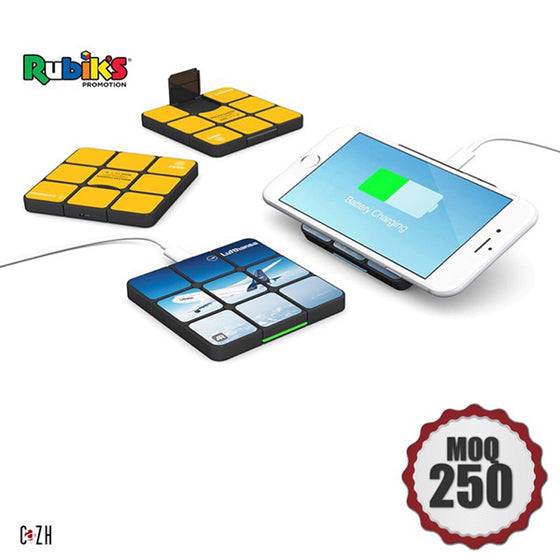 Custom Rubik's Wireless charger Corporate Gifts Ideas Rubik's Supplier Philippines Corporate Gifts Corporate Giveaways