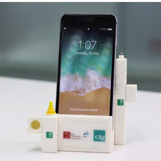 Custom Stationery Set Office Blocks PHONE STAND STATIONERY Set 3 in 1