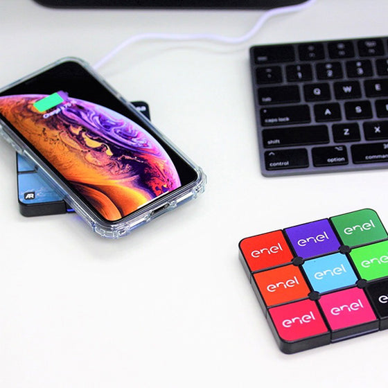 Custom Wireless Charger Corporate Gifts Rubik's Supplier Philippines Corporate Gifts Corporate Giveaways