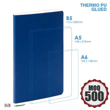 Large Leather notebook for Corporate Gifts Glued PU Leather