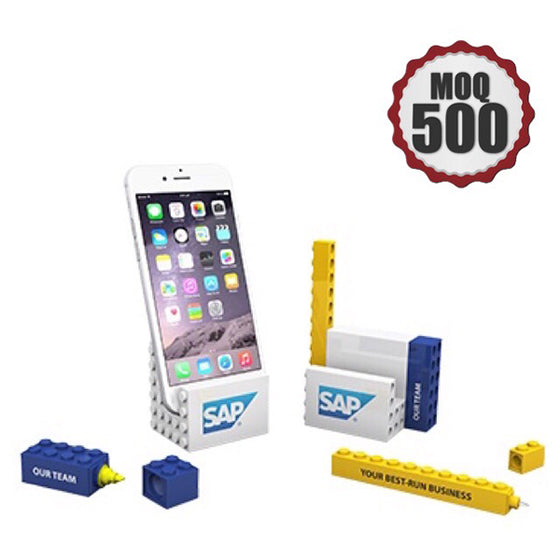 Office Blocks PHONE STAND STATIONERY Set 3 in 1