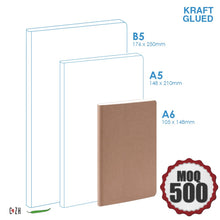 Personalized Kraft notebook Corporate Gifts Philippines