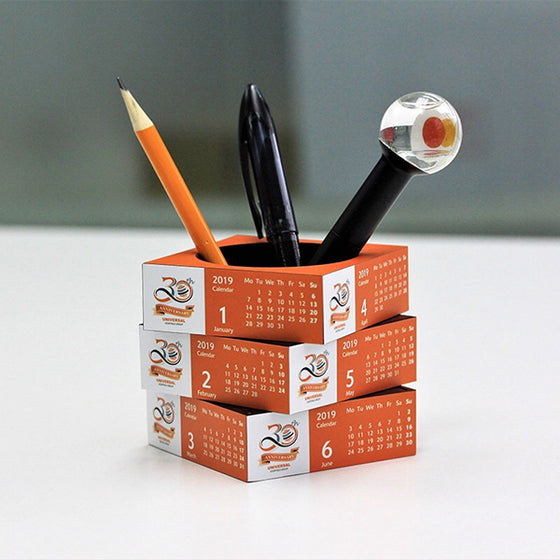 Personalized Magic Sliding Pen Pot