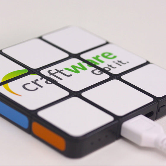 Personalized Rubik's Flat Power bank 4,000mAh