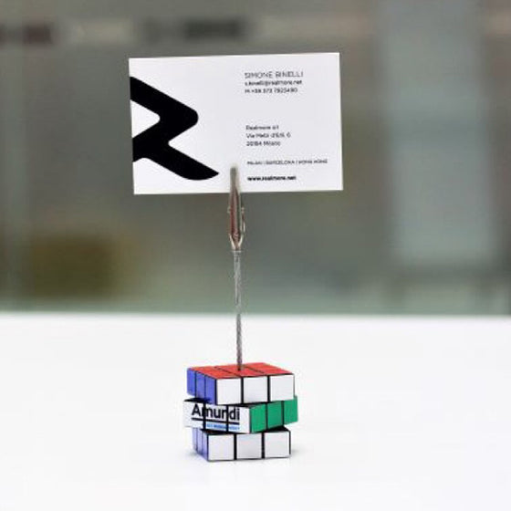 Personalized Rubik's Memo Clip Rubik's Supplier Philippines Corporate Gifts Corporate Giveaways
