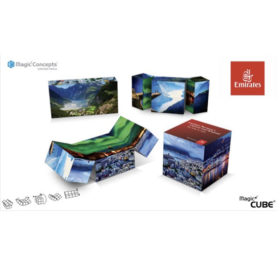Promotional Magic Cube 7cm Gift