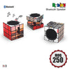 Custom Rubik's Speakers, Custom Bluetooth Speakers with Rubik's Design