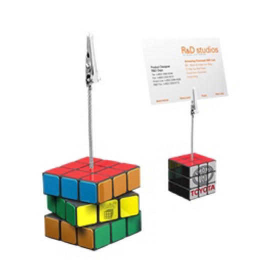 Rubik's Memo Clip Rubik's Supplier Philippines Corporate Gifts Corporate Giveaways