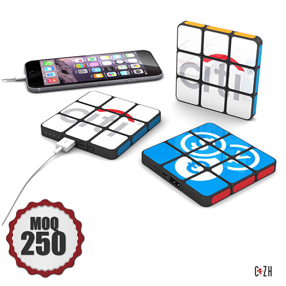 Rubik's Power bank 4000mAh Flat Power bank Custom Power bank Corporate Gifts