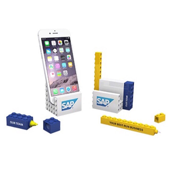 Stationery Gift Set Office Blocks PHONE STAND STATIONERY Set 3 in 1