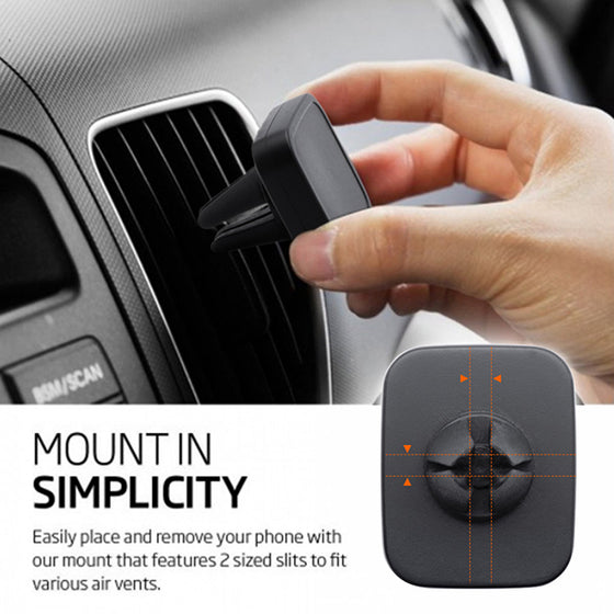 BND405 Allo2 Magnetic Car mount WHEAT FIBER