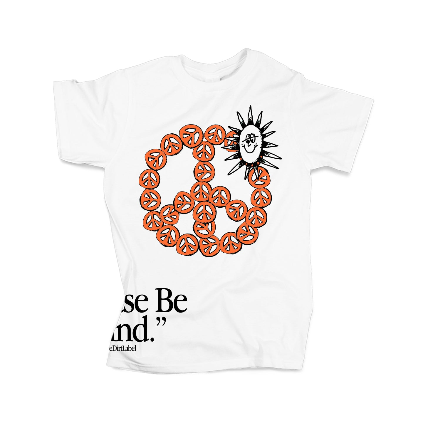 Peace Tee (White - Limited Edition) TDL