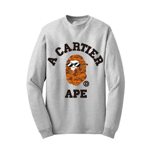 Cartier Ape Sweatshirt (Limited Edition) Orange TDL