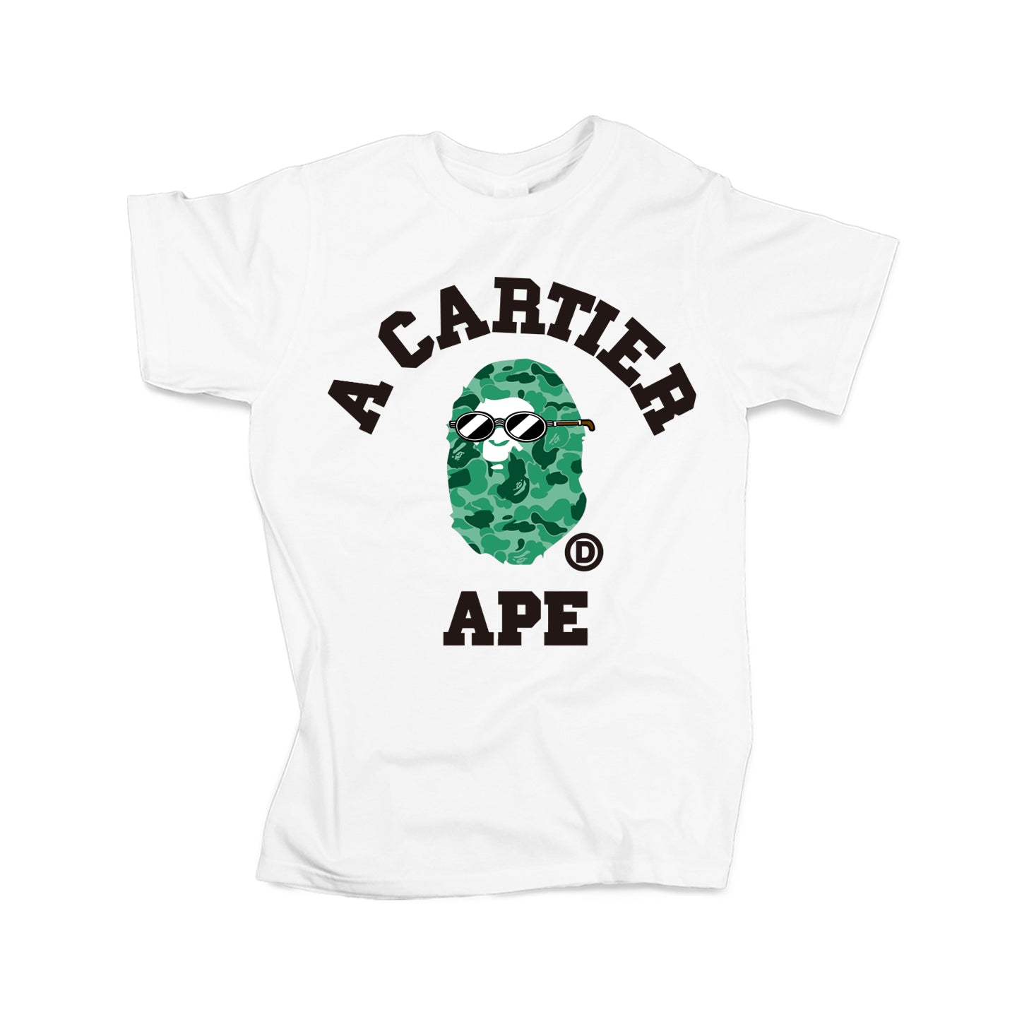Cartier Ape Tee (White - Limited Edition) TDL