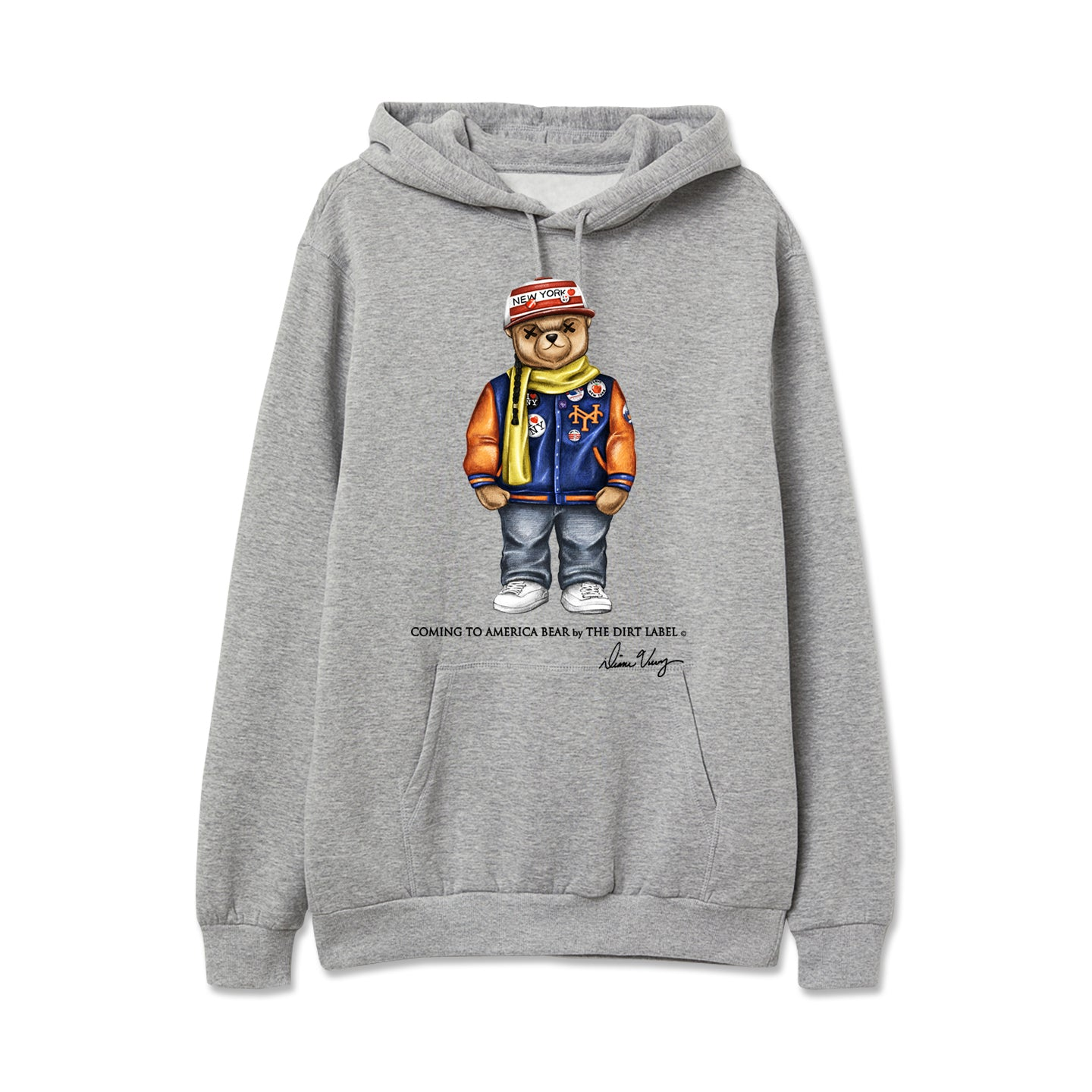Coming to America Hoodie (Grey - Limited Edition)