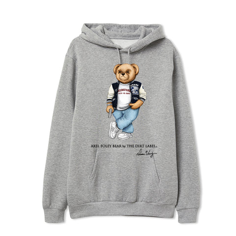 Axel Foley Bear Hoodie (Grey - Limited Edition)
