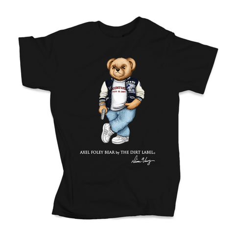 Axel Foley Bear Tee (Black - Limited Edition)