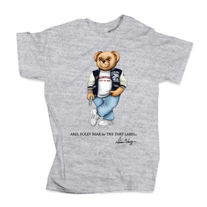 Axel Foley Bear Tee (Grey - Limited Edition)