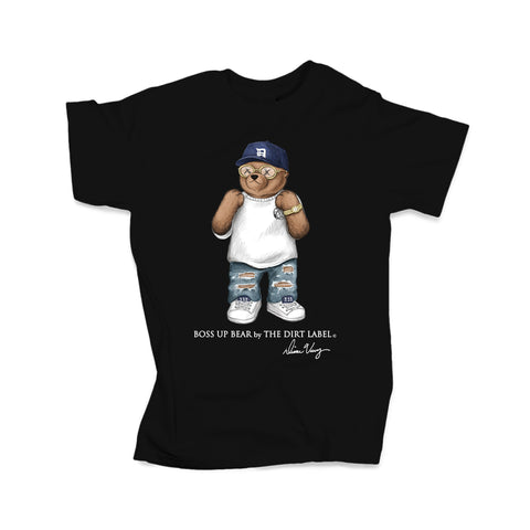 Boss Up Bear Tee (Black - Limited Edition)