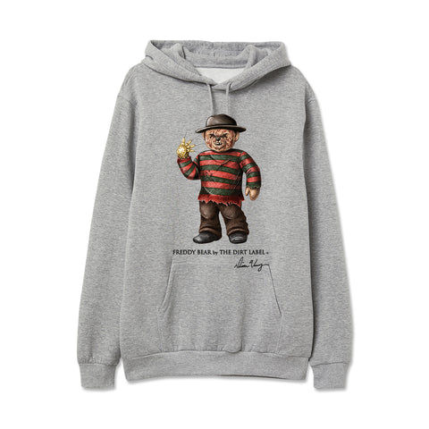 Freddy Bear Hoodie (Grey - Limited Edition)