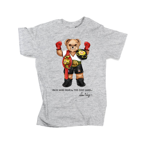 Iron Mike Tee (Grey - Limited Edition)
