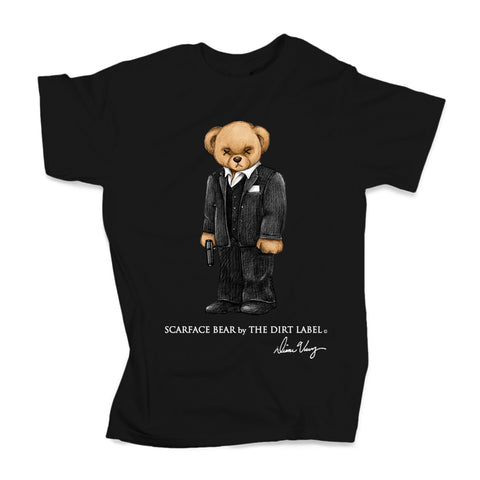 Scarface Bear Tee (Black - Limited Edition)