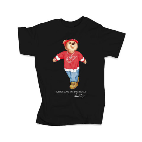 Tupac Bear Sweatshirt (Black - Limited Edition)