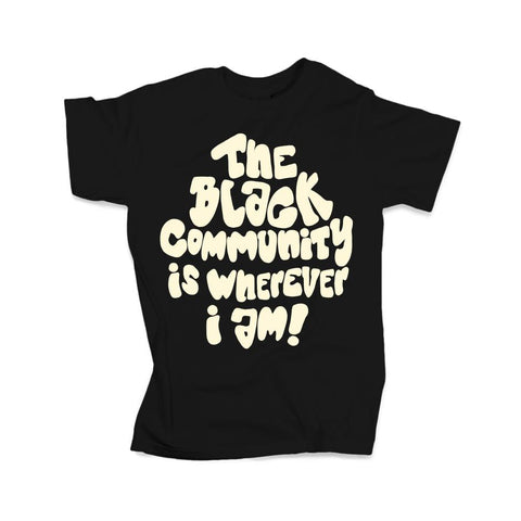 Black Community Tee (Limited Edition) TDL