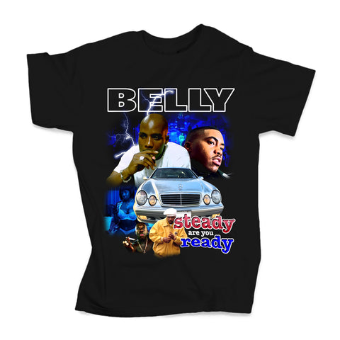 Belly (Black Tee - Limited Edition)