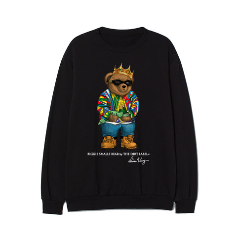 Biggie Bear Sweatshirt (Black - Limited Edition)