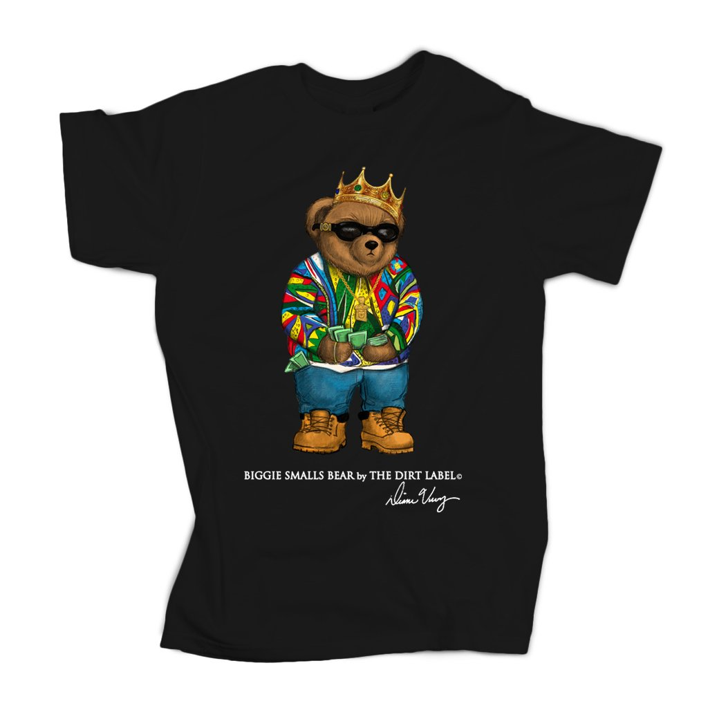 Biggie Bear Tee (Black - Limited Edition)