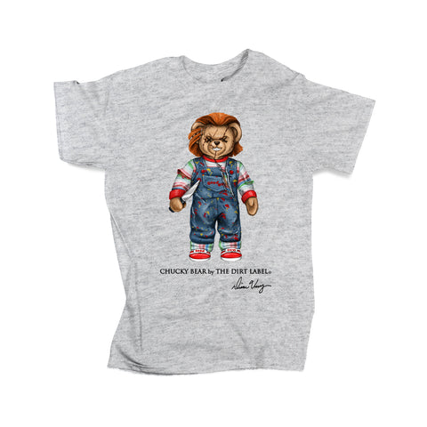 Chucky Bear Tee (Grey - Limited Edition)