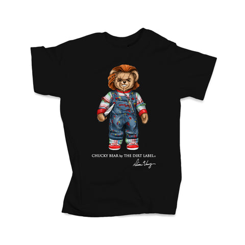 Chucky Bear Tee (Black - Limited Edition)