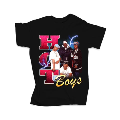 Hot Boyz Tee (Black - Limited Edition)