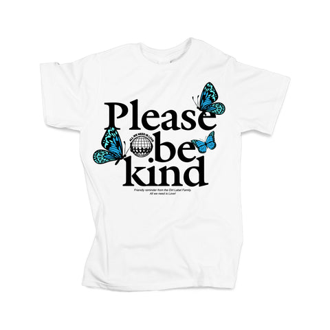 Please be Kind - Blue Tee (Limited Edition)  - TDL