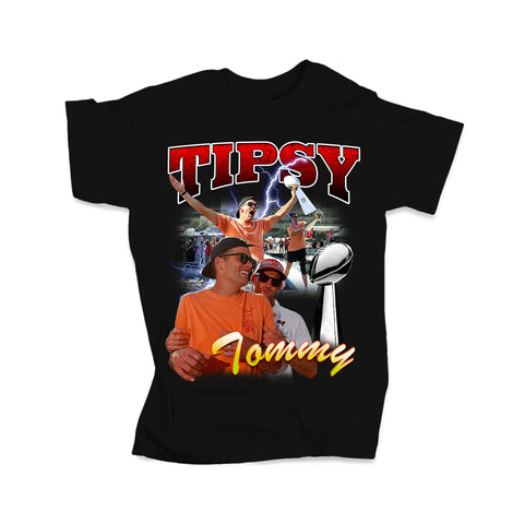 Tipsy Tommy Tee (Black - Limited Edition)