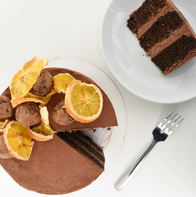 Chocolate Orange Cake (K) - Leo & Co. Bakery