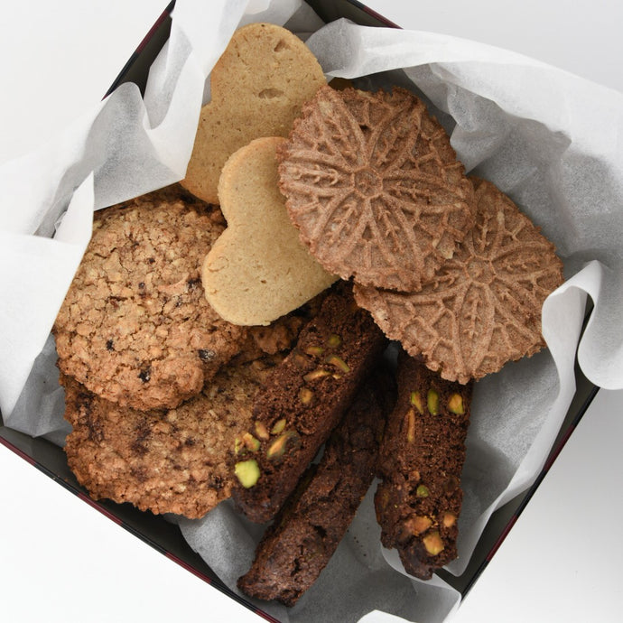 Assorted Cookie Box (AIP*/K*) 8-Pack - Leo & Co. Bakery