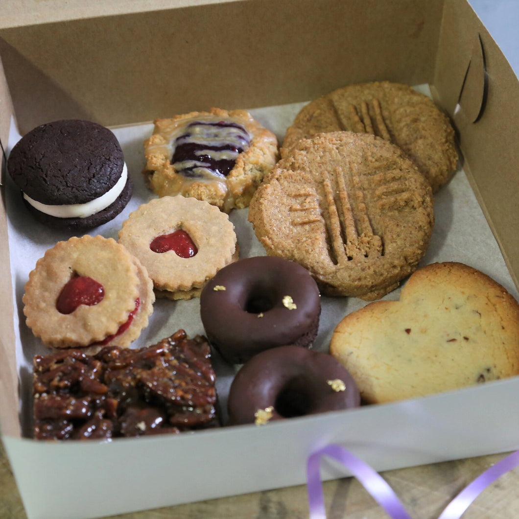 Assorted Treat Box (V/AIP) - Leo & Co. Bakery