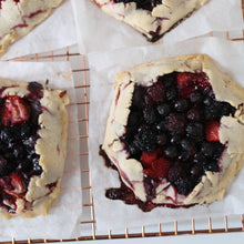 Load image into Gallery viewer, Wild Berry Galettes (AIP/V) 4-Pack - Leo & Co. Bakery