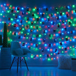 Guirlande Lumineuse Photos<br> Pincettes Multicolore