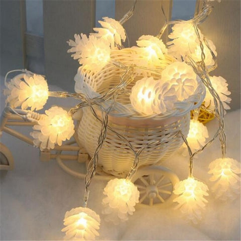Guirlande Lumineuse Chambre <br> Pives Blanc Chaud