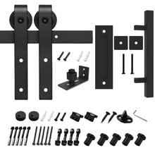 Load image into Gallery viewer, HomLux J Shaple Barn Door Hardware Whole Set