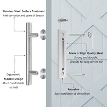 Load image into Gallery viewer, HomLux Round Handle for Barn Door
