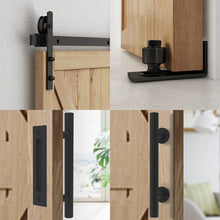 Load image into Gallery viewer, HomLux I Shaple Barn Door Hardware Whole Set