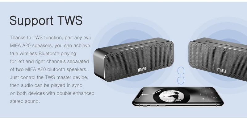 Caixa de Som Digital Sound 4.2 3D Bluetooth Mifa Portátil