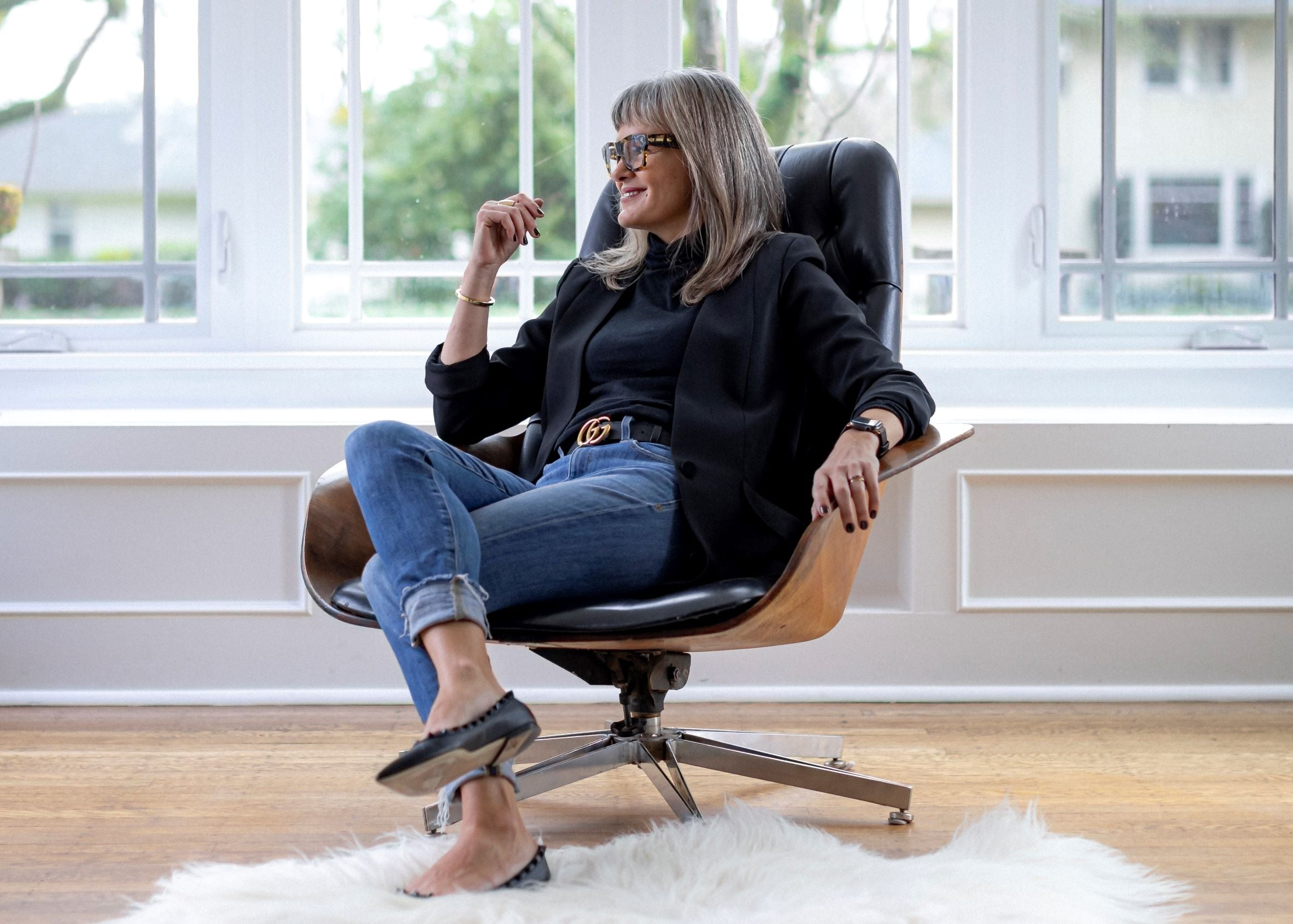Catrina Gregory - Ford Grey owner in an Eames