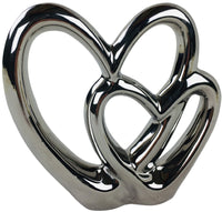 Double Heart Ornament 21cm